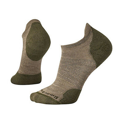 New Smartwool Men's PhD Outdoor Light Micro Socks Fossil Large