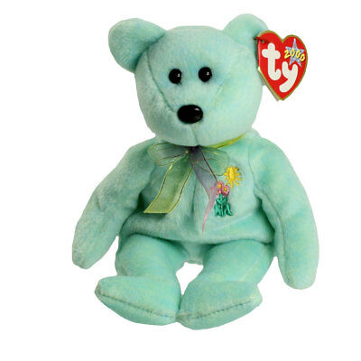 TY Beanie Baby - ARIEL the Bear (8.5 inch) - MWMTs Stuffed Animal Toy