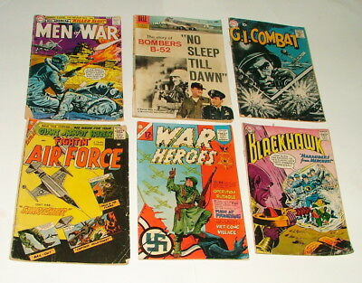 %  1950-60's War Comic Book Collection Lot Y-62