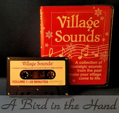 Dept 56 VILLAGE SOUNDS TAPE, New in Box, NEVER USED!