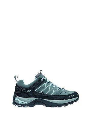CMP Hiking Shoes Hiking Shoe Rigel Low Grey Waterproof Leather Laces