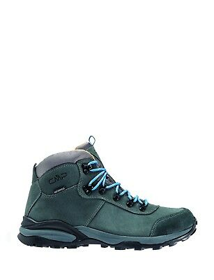 CMP Trekking Shoes Hiking Boots Grey Turais Suede Waterproof