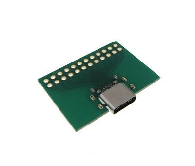 USB 3.1 Type-C Connector Breakout Board GP