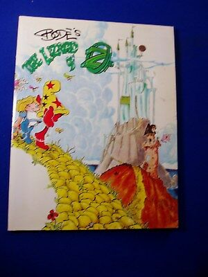 Bode's The Lizard of OZ. Fantagraphics Books 2004, paperback. 1st print. VFN.