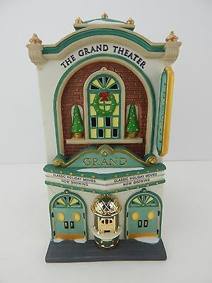Dept 56 Christmas in the City Grand Movie Theater #58870 Never Displayed