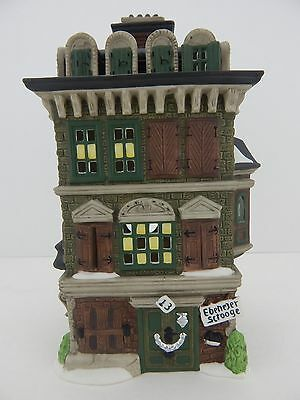 Dept 56 Dickens Village The Flat Ebenezer Scrooge of Scrooge #58875 Nice