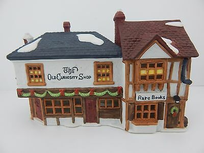 Dept 56 Dickens Village The Old Curiosity Shop #59056 Signed by Neilan Lund