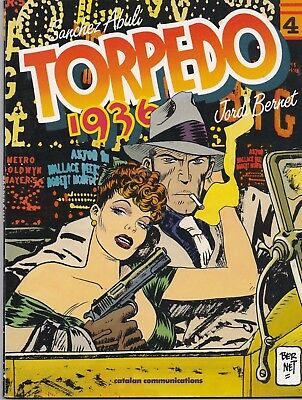 Torpedo 1936 Vol 4 GRAPHIC NOVEL by Jordi Bernet