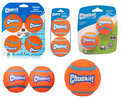 Chuckit Dog Puppy Tennis Ball Thick Bouncing Floating Toy Small Medium Large XL