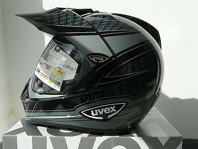 Uvex Enduro 3 in 1 Enduro - Integralhelm schwarz -grau - shiny -carbon Neu
