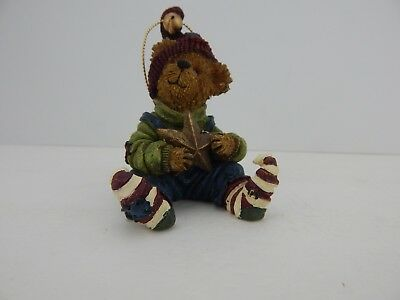 Boyds Bear-A-Star Ornament #25734 Never Displayed 18N