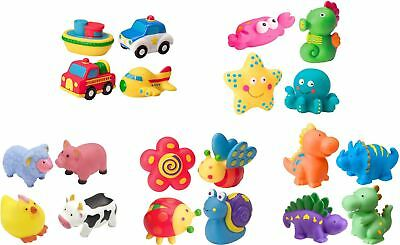 Alex RUB A DUB BATH SQUIRTERS Dino/Farm/Sport/Vehicles Baby/Child Tub Toy BN