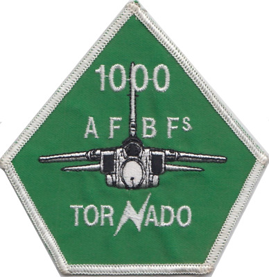 12 Squadron Tornado Diamond Official Military Crested Embroidered Patch RAF no