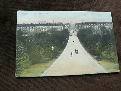 Old Postcard, In Queen's Park, Glasgow