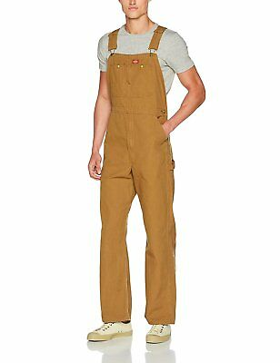 Dickies Mens Premium Insulated Bib Overall Super-reinforced Back Pockets