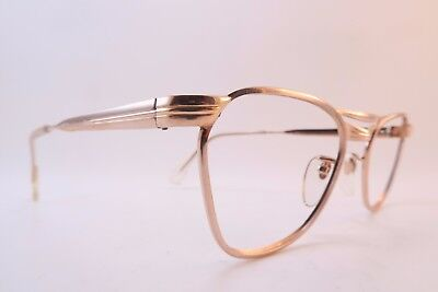 Vintage 50s gold filled eyeglasses frames Marwitz OPTIMA 50-18 135 Germany *****