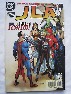 JLA issue 100 GIANT SIZE. JUSTICE LEAGUE of AMERICA, DC , 2004
