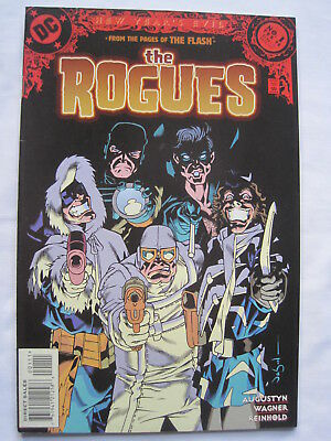 From the pages of The FLASH : the ROGUES 1, NEW YEAR'S EVIL. DC.1998