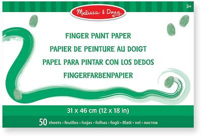 Melissa & Doug Finger Paint Paper Pad Painting Craft Art Baby Toddler Child New