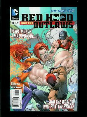 Red Hood And The Outlaws # 8 (DC New 52, VF) Flat Rate Combined Shipping!