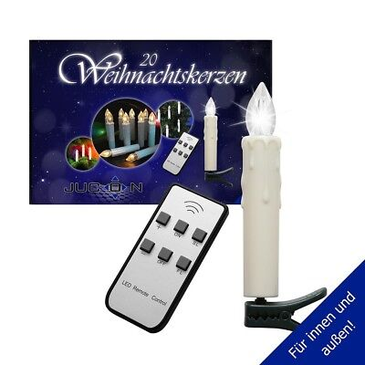 led christbaumkerzen mit fernbedienung eur 10 00 picclick de. Black Bedroom Furniture Sets. Home Design Ideas