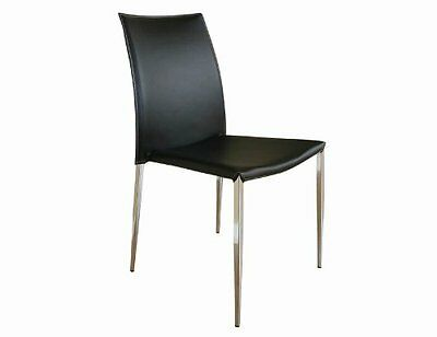 Baxton Studios Dining Chair-Alc-1899 Black-Pack Of 2