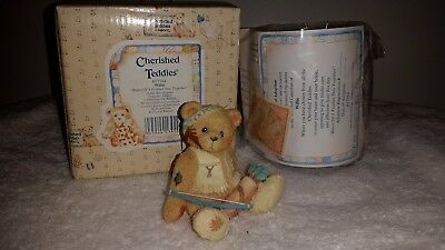 "Cherished Teddies WILLIE ""Bears of a Feather Stay Together"" 617164 ~ NiB"