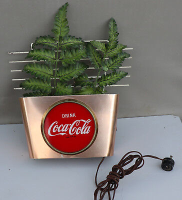 1950s COCA COLA Light Up Theater Pocket Sign   drive in  Movie
