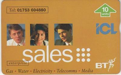 BT - ICL Sales Mint Limited Edition Phonecard BTP404 1000ex