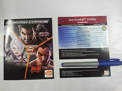 Fighting Edition Anleitung in Englisch + Ace Combat Infinity Set PS3 PlayStation