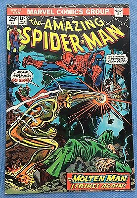 AMAZING SPIDER-MAN #132 Very High Grade NM 9.2  Marvel 1974 Last one in stock