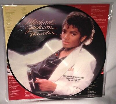 LP MICHAEL JACKSON Thriller (PICTURE DISC) 2008 NEW MINT SEALED