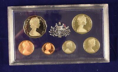 Royal Australian Mint 6 coin proof set 1971