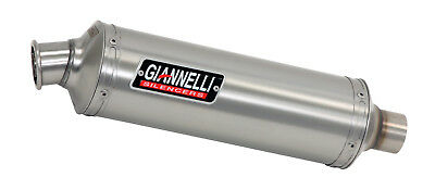 Gs-8Fcde Giannelli Cbr 125 R 2004-2010 53618A1K Round Full System Silenziatore A