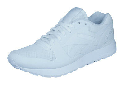 3f1d97cff80 Reebok Classic GL 6000 ANE Mens Sneakers   Retro Sports Shoes - All White