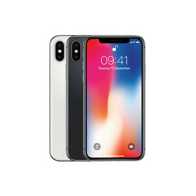 Apple iPhone X - 64GB 256GB - All Colours - Unlocked SIM Free Smartphone