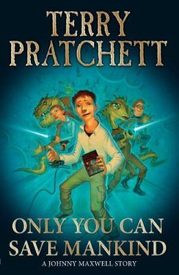 BOOK-Only You Can Save Mankind (Johnny Maxwell),Terry Pratchett