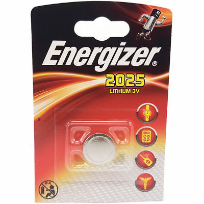 1 x Energizer 2025 3V Lithium Battery CR2025 DL2025 New sealed product
