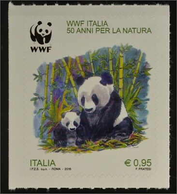 Italien Italy 2016 Michel Nr. 3904 50 Jahre World Wide Fund For Nature WWF