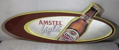 Vintage 1999 Amstel Light Beer Mirror Advertising Sign
