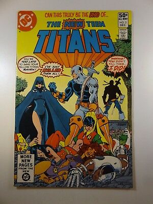 The New Teen Titans #2 1st Appearance of Deathstroke the Terminator!! Fine/VF!!