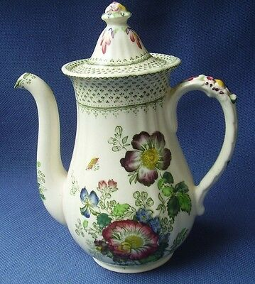 Masons  *paynsley*  Coffee Pot - Art Deco - Freehand Painted Detail - Vgc