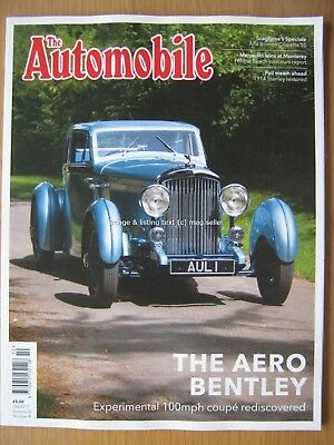 The Automobile October 2017 Aero Bentley Alfa Romeo Giulietta SS 1914 Stanley