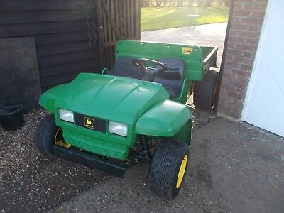 John Deere Gator with low hours worked stored in my Tractor / Digger Shed under