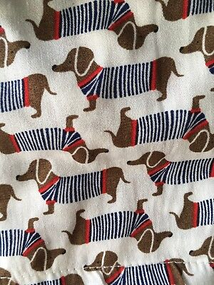 NWT DACHSHUND BOXER SHORTS Size L 36-38 Banana Republic Doxie Dogs In Sweaters
