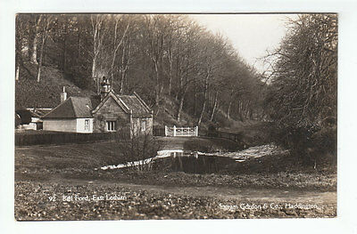 House At Biel Ford Dunbar East Lothian Real Photograph Ingram Gordon Haddington