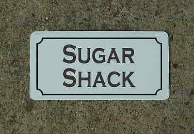 SUGAR SHACK Vintage Style Metal Sign Cosplay Rollplay Prop Decor