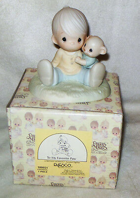 Precious Moments To My Favorite Paw Figurine 100021 NEW