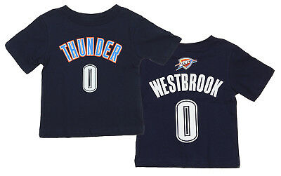 NBA Infant/Toddlers Oklahoma City Thunder Russell Westbrook #0 Player Shirt