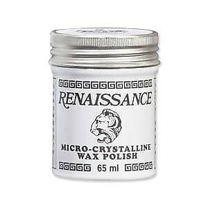 Renaissance Wax Polish Jewelry Crafts Antiques Wood Metal 2 Ounce Can